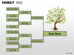 Sales Diagram Family Tree Strategic Management