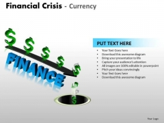 Sales Diagram Financial Crisis Currency Consulting Diagram