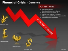 Sales Diagram Financial Crisis Currency Marketing Diagram