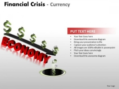 Sales Diagram Financial Crisis Currency Strategy Diagram