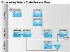 Sales Diagram Forecasting Future State Process Flow Strategic Management