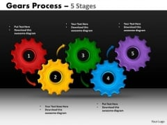 Sales Diagram Gears Process 5 Stages Style Mba Models And Frameworks