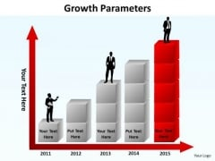 Sales Diagram Growth Parameters Business Cycle Diagram