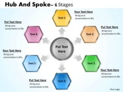Sales Diagram Hub And Spoke 6 Stages Mba Models And Frameworks