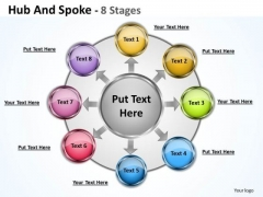 Sales Diagram Hub And Spoke Marketing Diagram