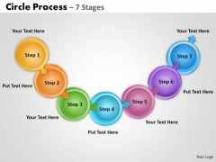 Sales Diagram Linear Flow Step Marketing Diagram