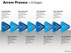 Sales Diagram Linear Process 8 Stages Business Diagram