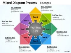 Sales Diagram Mixed Diagram Process 8 Stages For Business Mba Models And Frameworks