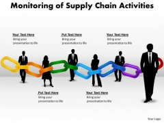 Sales Diagram Monitoring Of Supply Chain Activities Mba Models And Frameworks