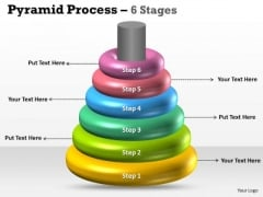 Sales Diagram Ring Shaped Design With 6 Stages Business Framework Model