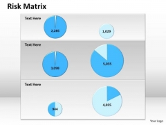 Sales Diagram Risk Matrix Templates Consulting Diagram