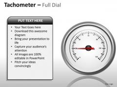 Sales Diagram Tachometer Full Dial Marketing Diagram