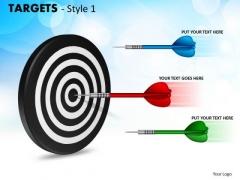 Sales Diagram Targets Style 1 Business Framework Model