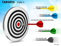 Sales Diagram Targets Style 1 Consulting Diagram