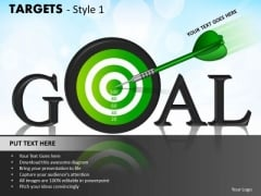 Sales Diagram Targets Style 1 Marketing Diagram