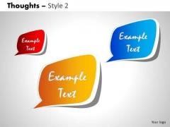 Sales Diagram Thoughts Business Framework Model