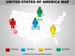 Sales Diagram Usa Country Maps Mba Models And Frameworks