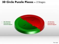 Strategic Management 3d Circle Puzzle Diagram Slide Layout Sales Diagram