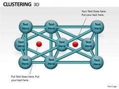 Strategic Management 3d Clustering Ppt Chart Business Diagram