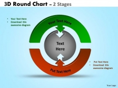 Strategic Management 3d Round Chart 2 Stages Mba Models And Frameworks
