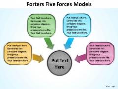 Strategic Management 5 Porters Forces Models 5 Marketing Diagram