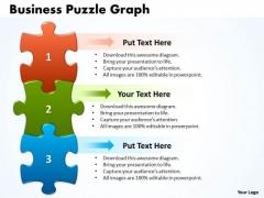 Strategic Management Business Puzzle Graph Business Diagram
