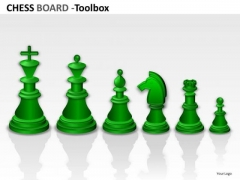 Strategic Management Chess Board Marketing Diagram
