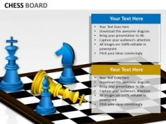 Strategic Management Chess Board Sales Diagram