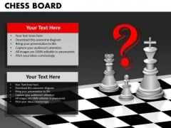 Strategic Management Chess Board Strategy Diagram