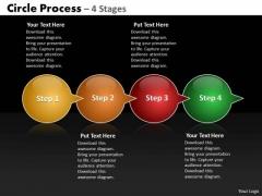 Strategic Management Circle Arrow Business Cycle Diagram