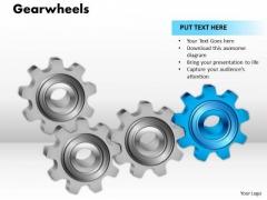 Strategic Management Gearwheels Business Diagram