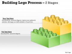 Strategic Management Lego Blocks Diagram Stages Marketing Diagram