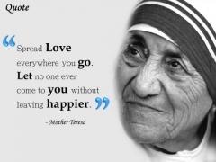 Strategic Management Mother Teresa Quote Presentation Slide Strategic Management