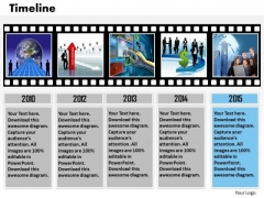 Strategic Management Roadmap Timeline Diagram For Business Concept Marketing Diagram