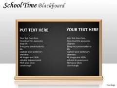 Strategic Management School Time Blackboard Consulting Diagram