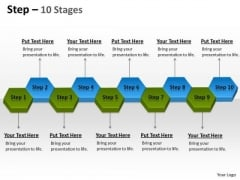 Strategic Management Step 10 Stages Boxes Consulting Diagram