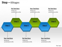Strategic Management Step 6 Stages Business Diagram