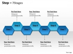 Strategic Management Step 7 Stages Business Diagram