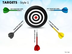 Strategic Management Targets Style 1 Business Diagram