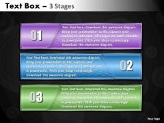 Strategic Management Text Box Steps 3 Marketing Diagram
