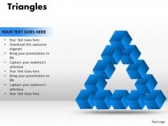 Strategic Management Triangles Business Diagram