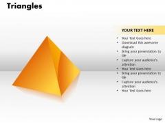 Strategic Management Triangles Diagram Marketing Diagram