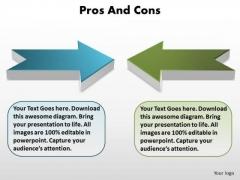 Strategic Management Two Opposing Views Editable Sales Diagram