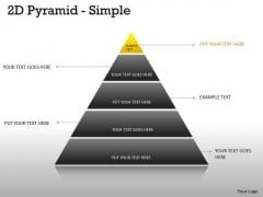 Strategy Diagram 5 Staged Business Pyramid Design Mba Models And Frameworks
