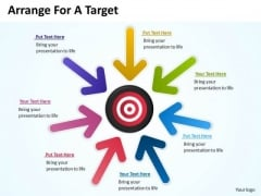Strategy Diagram Arrange For A Target Business Framework Model