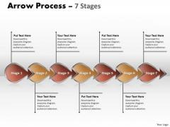 Strategy Diagram Arrow Process 7 Stages Sales Diagram