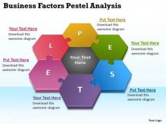 Strategy Diagram Business Factors Pestel Analysis Business Diagram