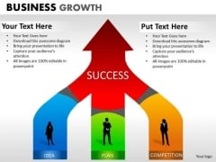 Strategy Diagram Business Growth Business Cycle Diagram