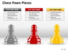 Strategy Diagram Chess Pawn Pieces Marketing Diagram