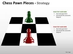 Strategy Diagram Chess Pawn Pieces Strategy Business Cycle Diagram